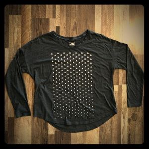 North Face Long Sleeve Tee-Shirt
